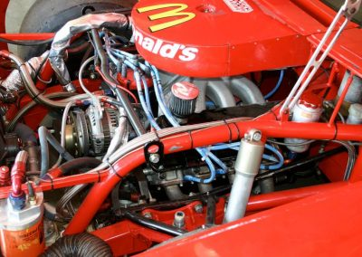 358 ci Ford NASCAR Engine to the number 94 McDonald's NASCAR, 840 HP @ 8,800 RPM