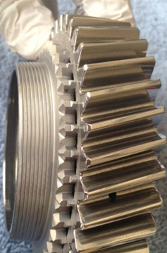 BMW transmission syncro-mesh gear, after REM-ISF™ polishing process