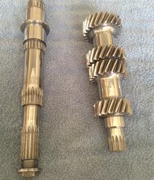 BMW 4 speed main shaft and cluster-shaft after REM-ISF™ polishing process