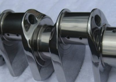 Cosworth DFV 3.0 Liter F-1 Crankshaft, after cryogenic and REM-ISF™ process