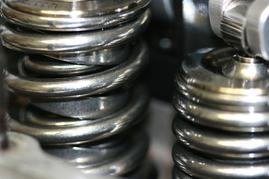 Ford NASCAR 358 ci valve springs & rocker arm after cryo, and REM-ISF™ treatement